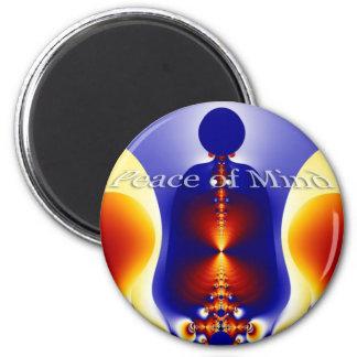 Peace of Mind 6 Cm Round Magnet