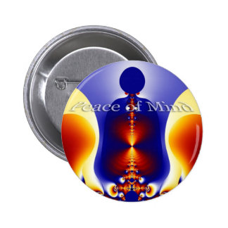 Peace of Mind Pinback Buttons