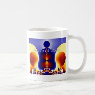Peace of Mind Basic White Mug