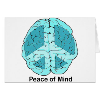 Peace of Mind Greeting Card