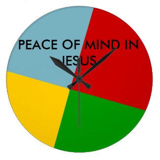 Peace of Mind in Jesus Clock