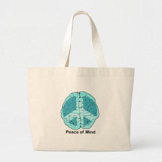 Peace of Mind Jumbo Tote Bag