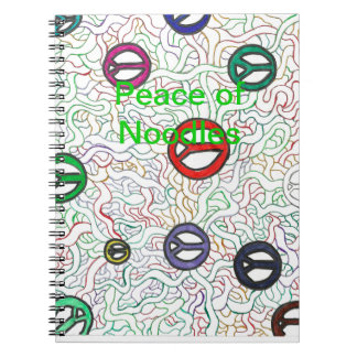 Peace of Noodles Note Book