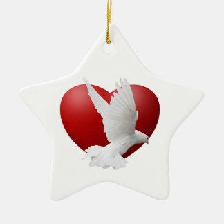 Peace of the Season Holiday Ornament