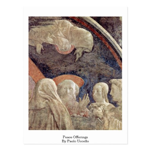 Peace Offerings By Paolo Uccello Post Cards
