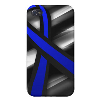 Peace Officers Memorial Ribbon iPhone 4 Cases