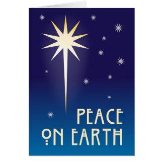 Peace On Earth 1 Greeting Card