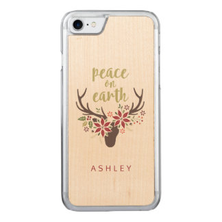Peace on Earth Carved iPhone 7 Case