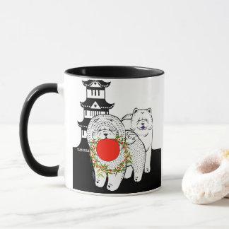 PEACE ON EARTH  - Chow Mug  Year of the Dog