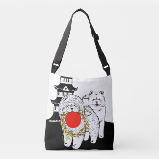 PEACE ON EARTH  - Chow tote and crossbody bag