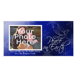Peace on Earth Christmas or Hanukkah Photo Cards