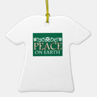 Peace On Earth Christmas Tree Ornaments