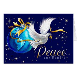 Peace on Earth. Customizable Christmas Cards