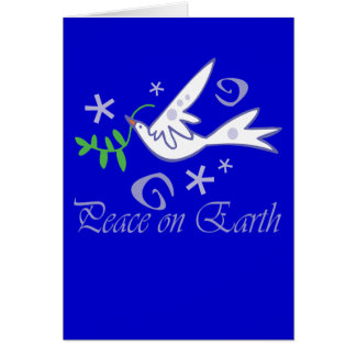Peace on Earth Dove Cards