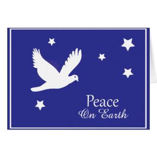 Peace on Earth Dove Christmas Card