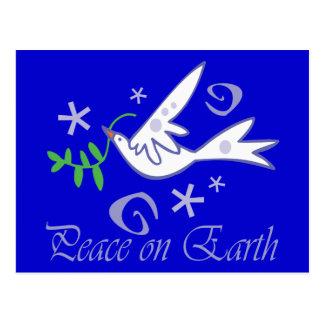 Peace on Earth Dove Postcards