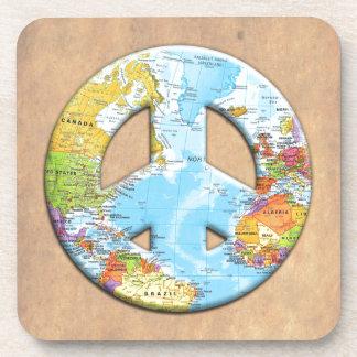 Peace On Earth Drink Coaster