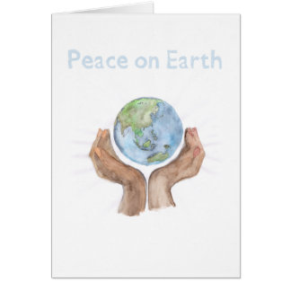 Peace on Earth, Feed the World Greeting Card