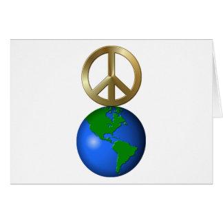 Peace On Earth Fun Rebus Holiday Greeting Greeting Card
