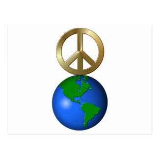 Peace On Earth Fun Rebus Holiday Greeting Post Cards