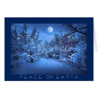 PEACE ON EARTH, Greeting Card
