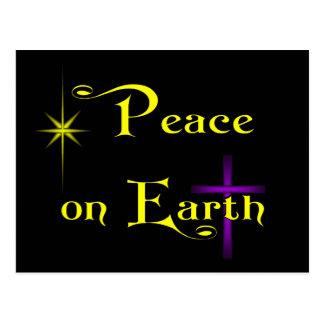 Peace On Earth (horizontal) Postcards