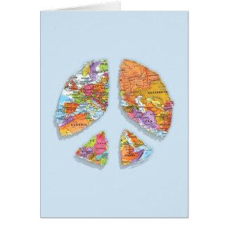 Peace On Earth II Greeting Card