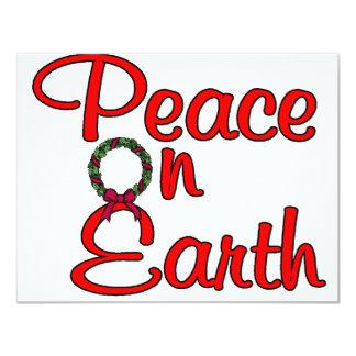 Peace On Earth Invites
