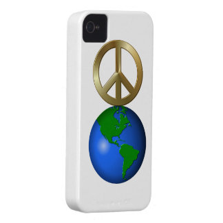 Peace on Earth iPhone 4 Cases