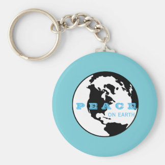 Peace on earth key ring