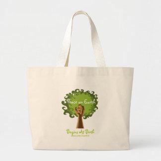 Peace on Earth... midwife Jumbo Tote Bag