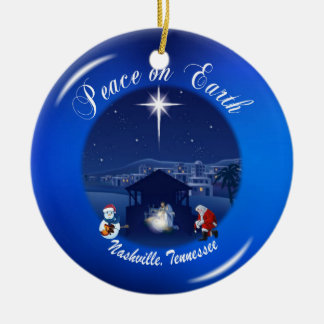 Peace on Earth Nashville Ornament