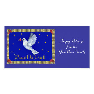 Peace On Earth Picture Card