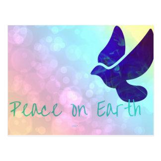 Peace on earth postcard 2017