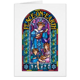 Peace on Earth Pre-Raphaelite Christmas note card