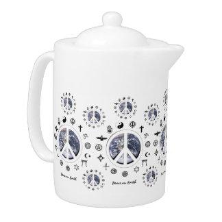 Peace on Earth Teapot