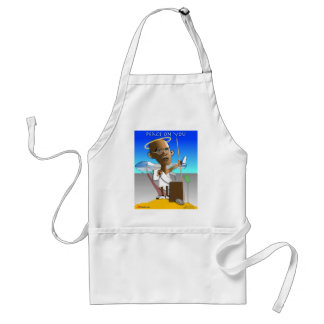 Peace On You Standard Apron