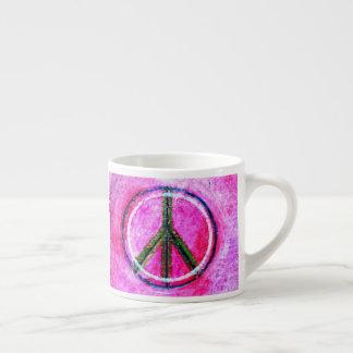 ...peace...original art by healingcolors... espresso cup
