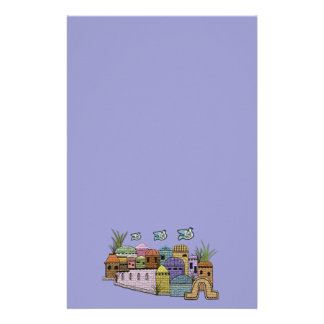 Peace over Jerusalem Stationery