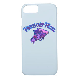 Peace Over Pizza iPhone 8/7 Case