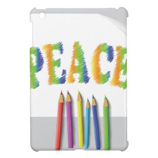 peace painted cover for the iPad mini