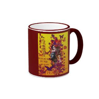 peace, PEACE Coffee Mug
