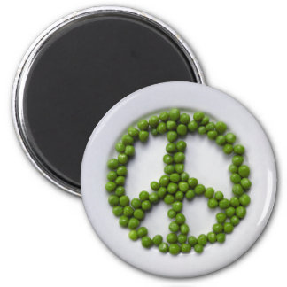 Peace Peas Magnet
