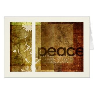 Peace | Philippians 4:7 Card