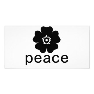 Peace Photo Card Template