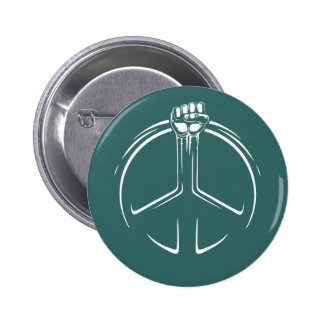 Peace Power! 6 Cm Round Badge