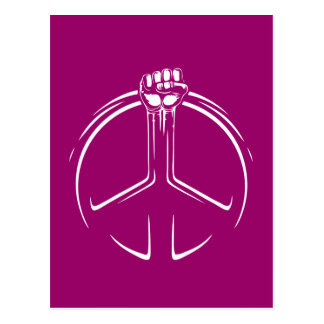 Peace Power! Postcard