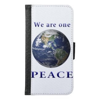 PEACE products Samsung Galaxy S6 Wallet Case