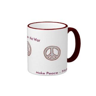 PEACE RINGER MUG