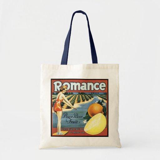 Peace River Fruit Company Crate Label - Bag